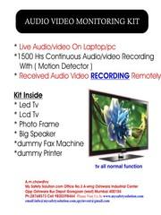 audio video monitor , spy phone india