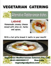 Saris Vegetarian Mediterranean catering -