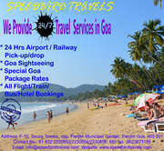 Cheap airport drops / pick ups / sightseeing and hotels offered in Goa . All kinds of vehicles and budgets.