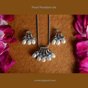 Pearl Pendant sets from TajPearl.com at your Door steps