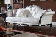 Neoclassical style 3 seater sofa set