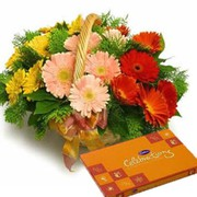 Online New Year Flowers to India