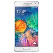 Samsung - Galaxy - Alpha White Silver-67023