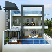 There are many apartments in Siolim for sale