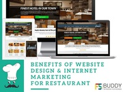 Web Design and Internet Marketing for Restaurant