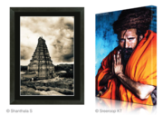 Framed and Gallery Wrap Canvas Prints Online in Goa