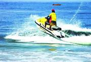 Adventure of Jet-ski Ride in Goa