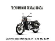 Bike hire in goa - Goa Bikes Inc.