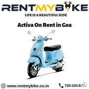 Activa on rent in Goa - Rent My Bike