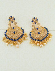 Buy Latest Earrings Collection for Girls from Anuradha Art Jewellery.