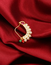 Buy Beautiful Collection of Nose Ring Design Online at Low Cost
