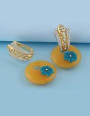 Buy Beautiful Gold Hoop Earrings Online for Women.