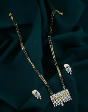 Buy Simple Mangalsutra Design Online for Women .