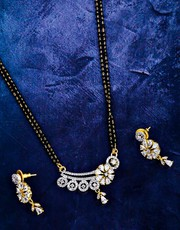 Get Latest Simple Mangalsutra Design at Best Price by Anuradha Art Jew